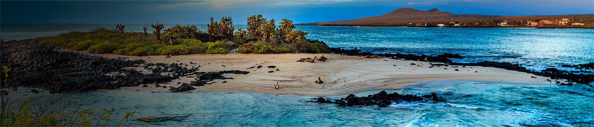 El famoso island-hopping de Galápagos